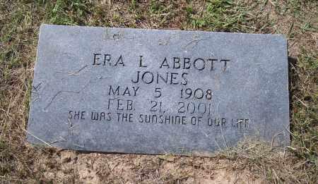 JONES, ERA L - Dallas County, Arkansas | ERA L JONES - Arkansas Gravestone Photos