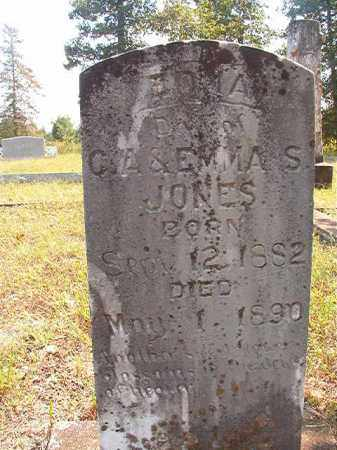 JONES, EDNA - Dallas County, Arkansas | EDNA JONES - Arkansas Gravestone Photos