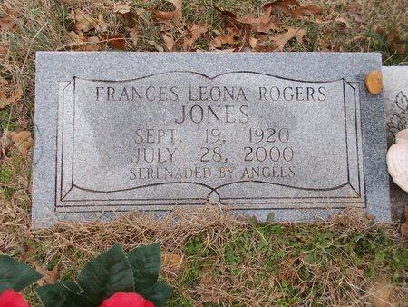 JONES, FRANCES LEONA - Dallas County, Arkansas | FRANCES LEONA JONES - Arkansas Gravestone Photos