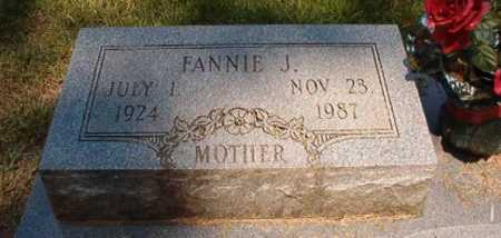 JONES, FANNIE J - Dallas County, Arkansas   FANNIE J JONES - Arkansas Gravestone Photos