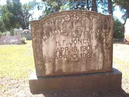 JONES, GLADYS M - Dallas County, Arkansas | GLADYS M JONES - Arkansas Gravestone Photos