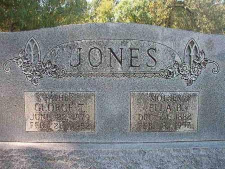 JONES, GEORGE T - Dallas County, Arkansas | GEORGE T JONES - Arkansas Gravestone Photos
