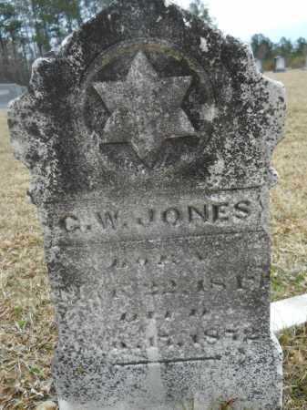 JONES, G W - Dallas County, Arkansas   G W JONES - Arkansas Gravestone Photos