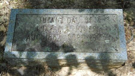 JONES, INFANT - Dallas County, Arkansas   INFANT JONES - Arkansas Gravestone Photos