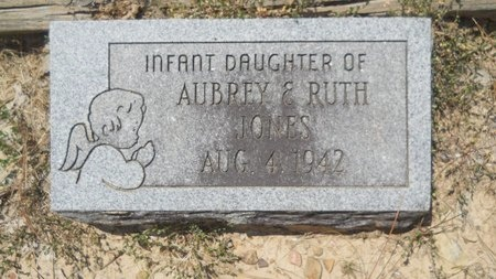 JONES, INFANT - Dallas County, Arkansas | INFANT JONES - Arkansas Gravestone Photos