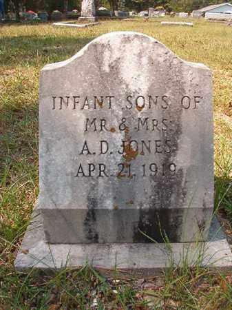 JONES, INFANT SONS - Dallas County, Arkansas | INFANT SONS JONES - Arkansas Gravestone Photos