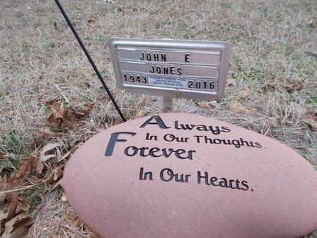 JONES, JOHN EDWARD (OBIT) - Dallas County, Arkansas | JOHN EDWARD (OBIT) JONES - Arkansas Gravestone Photos