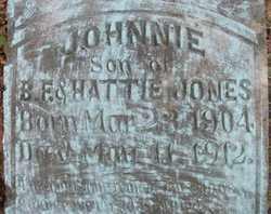 JONES, JOHNNIE - Dallas County, Arkansas | JOHNNIE JONES - Arkansas Gravestone Photos
