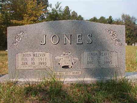 JONES, JOHN MELVIN - Dallas County, Arkansas   JOHN MELVIN JONES - Arkansas Gravestone Photos
