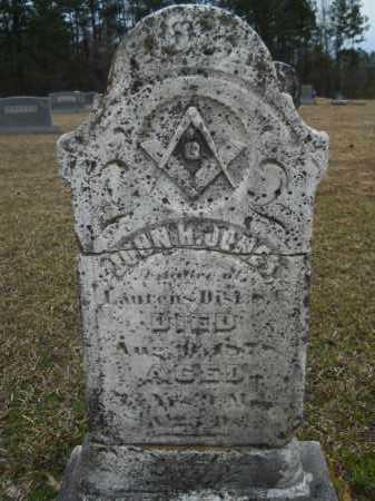 JONES, JOHN H - Dallas County, Arkansas   JOHN H JONES - Arkansas Gravestone Photos