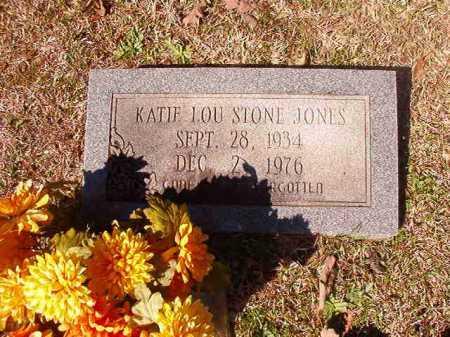 JONES, KATIE LOU - Dallas County, Arkansas | KATIE LOU JONES - Arkansas Gravestone Photos