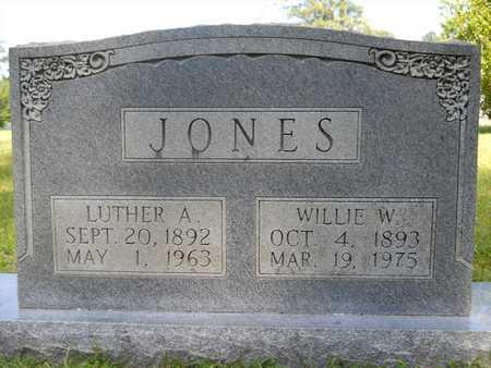 JONES, WILLIE W - Dallas County, Arkansas | WILLIE W JONES - Arkansas Gravestone Photos