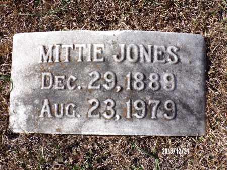 JONES, MITTIE - Dallas County, Arkansas | MITTIE JONES - Arkansas Gravestone Photos
