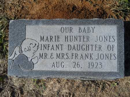 JONES, MARIE HUNTER - Dallas County, Arkansas | MARIE HUNTER JONES - Arkansas Gravestone Photos