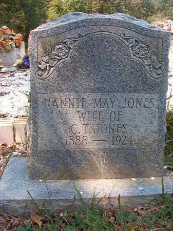 JONES, NANNIE MAY - Dallas County, Arkansas | NANNIE MAY JONES - Arkansas Gravestone Photos