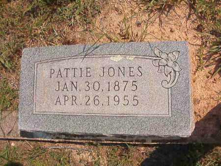 JONES, PATTIE - Dallas County, Arkansas   PATTIE JONES - Arkansas Gravestone Photos