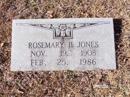 JONES, ROSEMARY B - Dallas County, Arkansas   ROSEMARY B JONES - Arkansas Gravestone Photos