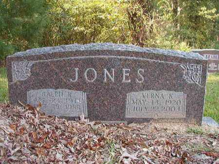 JONES, RALPH RAYMOND - Dallas County, Arkansas | RALPH RAYMOND JONES - Arkansas Gravestone Photos