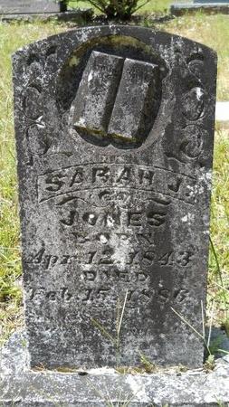 JONES, SARAH J - Dallas County, Arkansas | SARAH J JONES - Arkansas Gravestone Photos