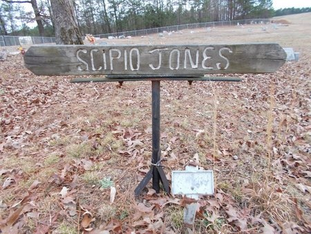 JONES, SCIPIO - Dallas County, Arkansas | SCIPIO JONES - Arkansas Gravestone Photos