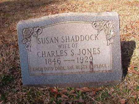SHADDOCK JONES, SUSAN - Dallas County, Arkansas | SUSAN SHADDOCK JONES - Arkansas Gravestone Photos