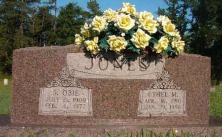 JONES, S OBIE - Dallas County, Arkansas   S OBIE JONES - Arkansas Gravestone Photos