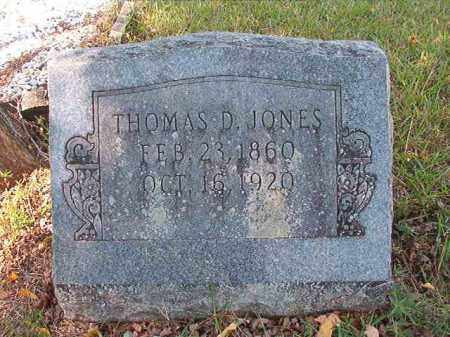 JONES, THOMAS D - Dallas County, Arkansas | THOMAS D JONES - Arkansas Gravestone Photos