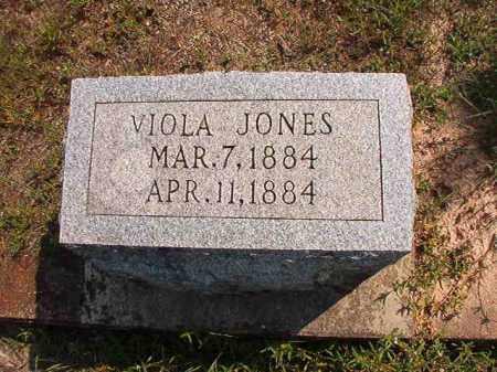 JONES, VIOLA - Dallas County, Arkansas | VIOLA JONES - Arkansas Gravestone Photos