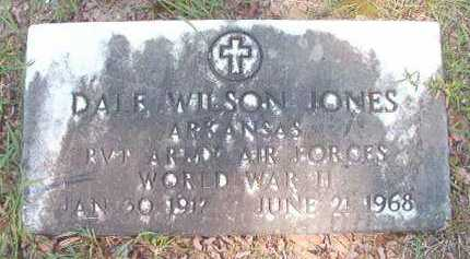 JONES (VETERAN WWII), DALE WILSON - Dallas County, Arkansas | DALE WILSON JONES (VETERAN WWII) - Arkansas Gravestone Photos