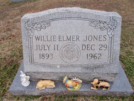 JONES, WILLIE ELMER - Dallas County, Arkansas | WILLIE ELMER JONES - Arkansas Gravestone Photos