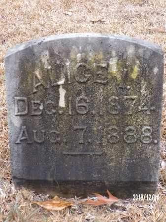 JORDAN, ALICE I - Dallas County, Arkansas | ALICE I JORDAN - Arkansas Gravestone Photos