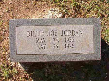JORDAN, BILLIE JOE - Dallas County, Arkansas | BILLIE JOE JORDAN - Arkansas Gravestone Photos