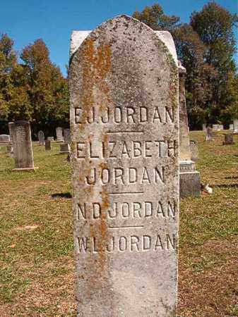 JORDAN, E J - Dallas County, Arkansas | E J JORDAN - Arkansas Gravestone Photos
