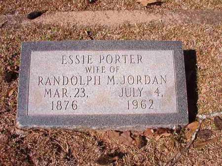 PORTER JORDAN, ESSIE - Dallas County, Arkansas | ESSIE PORTER JORDAN - Arkansas Gravestone Photos