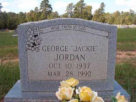 "JORDAN, GEORGE ""JACKIE"" - Dallas County, Arkansas | GEORGE ""JACKIE"" JORDAN - Arkansas Gravestone Photos"
