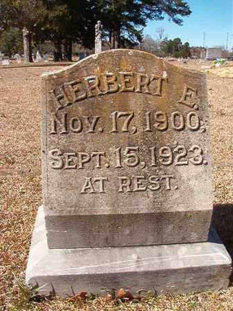 JORDAN, HERBERT E - Dallas County, Arkansas | HERBERT E JORDAN - Arkansas Gravestone Photos
