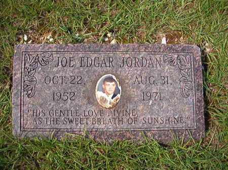JORDAN, JOE EDGAR - Dallas County, Arkansas | JOE EDGAR JORDAN - Arkansas Gravestone Photos