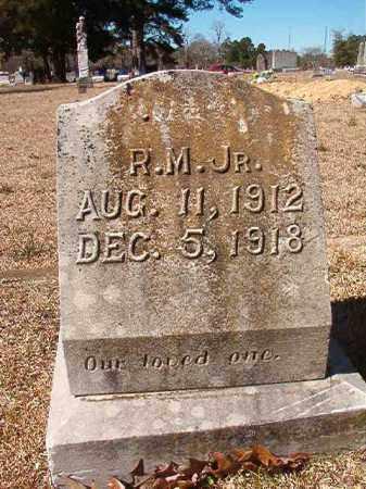 JORDAN, JR, R M - Dallas County, Arkansas   R M JORDAN, JR - Arkansas Gravestone Photos