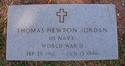 JORDAN (VETERAN WWII), THOMAS NEWTON - Dallas County, Arkansas   THOMAS NEWTON JORDAN (VETERAN WWII) - Arkansas Gravestone Photos