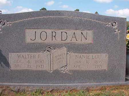 JORDAN, WALTER E - Dallas County, Arkansas | WALTER E JORDAN - Arkansas Gravestone Photos