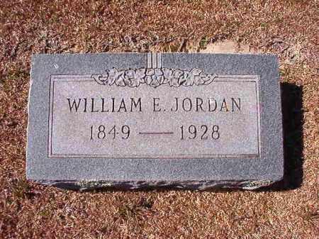 JORDAN, WILLIAM E - Dallas County, Arkansas | WILLIAM E JORDAN - Arkansas Gravestone Photos