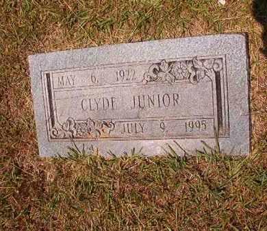 JUNIOR, CLYDE - Dallas County, Arkansas | CLYDE JUNIOR - Arkansas Gravestone Photos