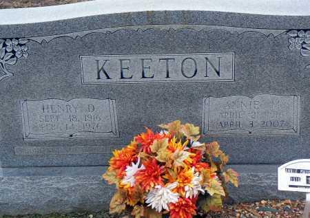 KEETON, ANNIE M. - Dallas County, Arkansas | ANNIE M. KEETON - Arkansas Gravestone Photos