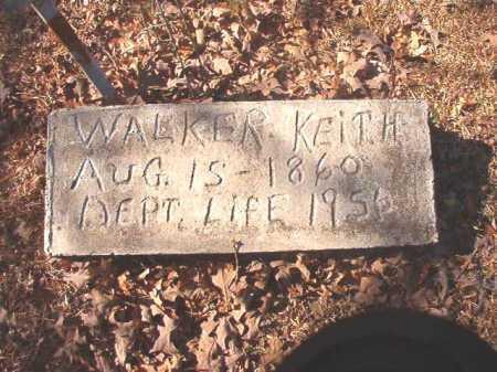 KEITH, WALKER - Dallas County, Arkansas   WALKER KEITH - Arkansas Gravestone Photos