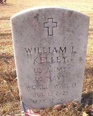 KELLEY (VETERAN WWII), WILLIAM L - Dallas County, Arkansas | WILLIAM L KELLEY (VETERAN WWII) - Arkansas Gravestone Photos