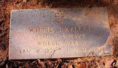 KELLEY (VETERAN WWII), WILLIE J - Dallas County, Arkansas | WILLIE J KELLEY (VETERAN WWII) - Arkansas Gravestone Photos