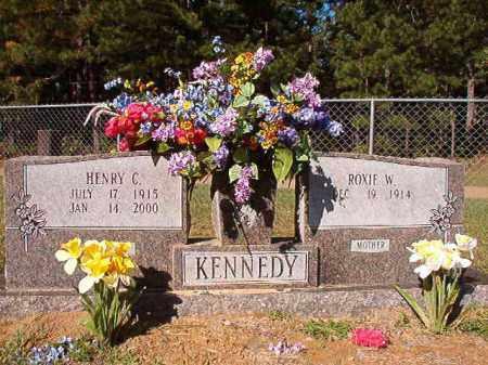 WALKER KENNEDY, ROXIE - Dallas County, Arkansas | ROXIE WALKER KENNEDY - Arkansas Gravestone Photos