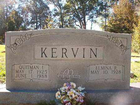 KERVIN, QUITMAN I - Dallas County, Arkansas | QUITMAN I KERVIN - Arkansas Gravestone Photos