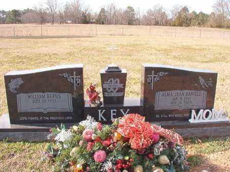 DANIELL KEY, ALMA JEAN - Dallas County, Arkansas | ALMA JEAN DANIELL KEY - Arkansas Gravestone Photos