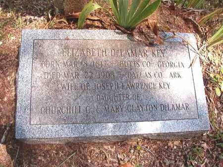 KEY, ELIZABETH - Dallas County, Arkansas | ELIZABETH KEY - Arkansas Gravestone Photos
